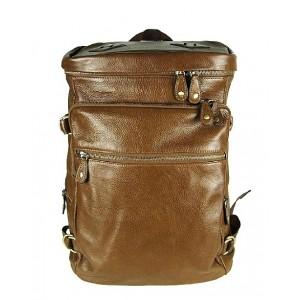 Leather backpack for men, leather man bag