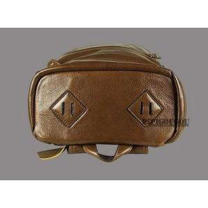 vintage Leather backpack for men