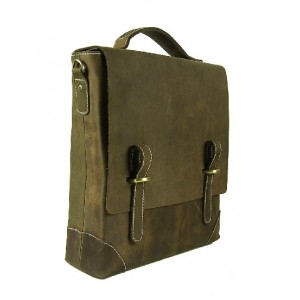 Soft leather briefcase for men