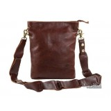 Brown leather messenger bag, cool mens messenger bag