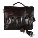 Leather briefcase men, leather briefcase shoulder strap