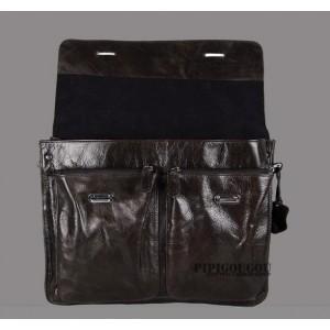 vintage leather briefcase shoulder strap