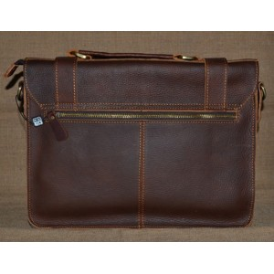 coffee Leather travel bag