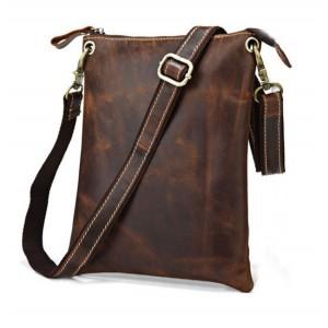 IPAD leather satchel bag, leather messenger bag