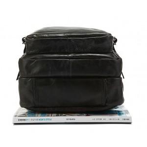 black Leather rucksack