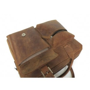 brown Leather satchel briefcase