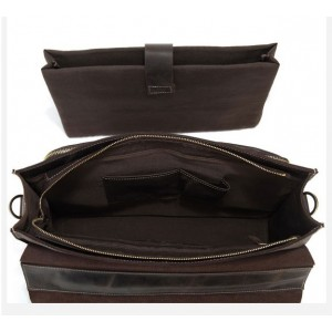 vintage Leather laptop bag