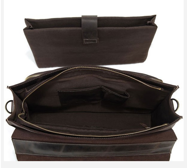 Leather Document Bag Leather Laptop Bag Leather