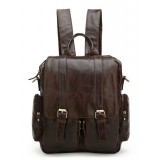Messenger bag backpack, leather organizer backpack