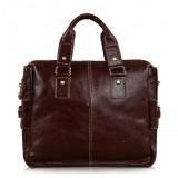 Briefcase men, vintage messenger bag