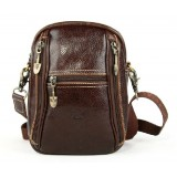 Messenger leather bags for women, vintage messenger bag