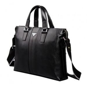 black executive briefcase for men