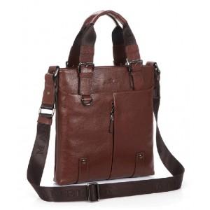 Vintage messenger bag leather, zipper messenger bag