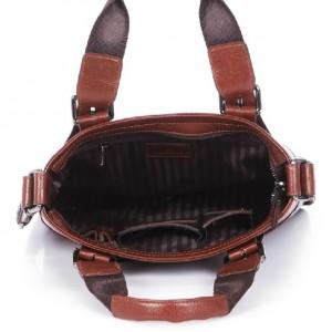 mens Vintage messenger bag leather