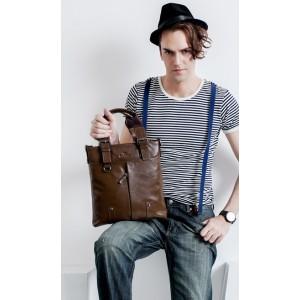 mens zipper messenger bag