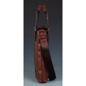 retro messenger bag leather