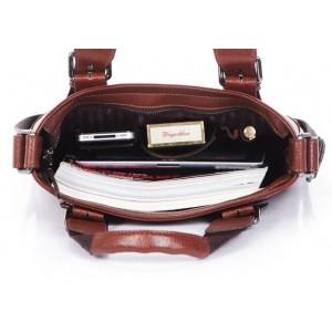 vntage zipper messenger bag