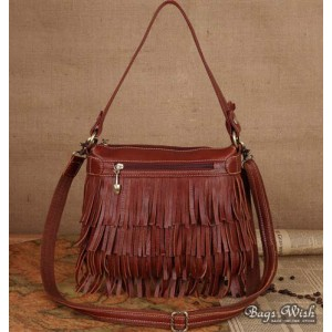 Tassel messenger bag for women
