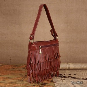 womens Tassel messenger bag