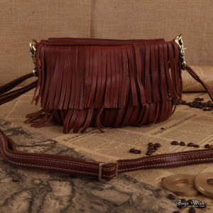 womens leather side bag