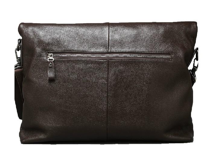 14 Inch Laptop Bag Leather Messenger Computer Bag Bagswish