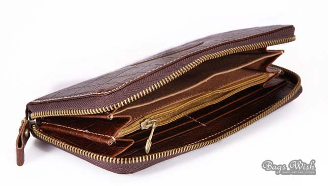 f1f4bb7ba6066 ... womens Brown leather wallet; womens clutch wallet; clutch wallet for  women ...