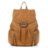 Backpack purse leather