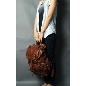 womens Punk leather satchel bag