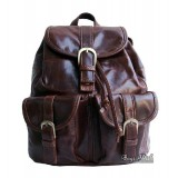 Leather satchel backpack black, coffee old school leather backpack