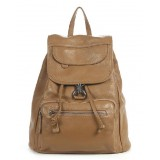 Best backpack purse, black leather back pack