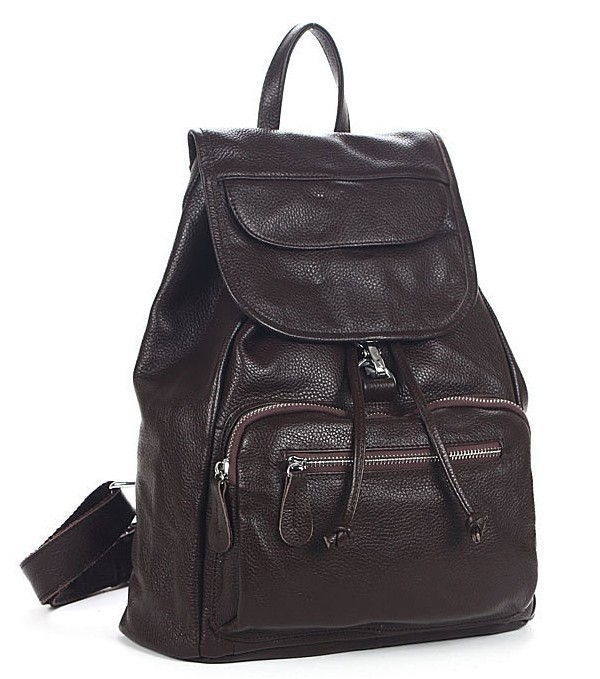 Best backpack purse, black leather back pack - BagsWish