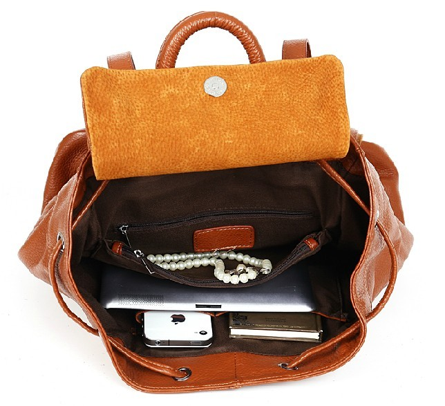 Womens Leather Backpack Purse
