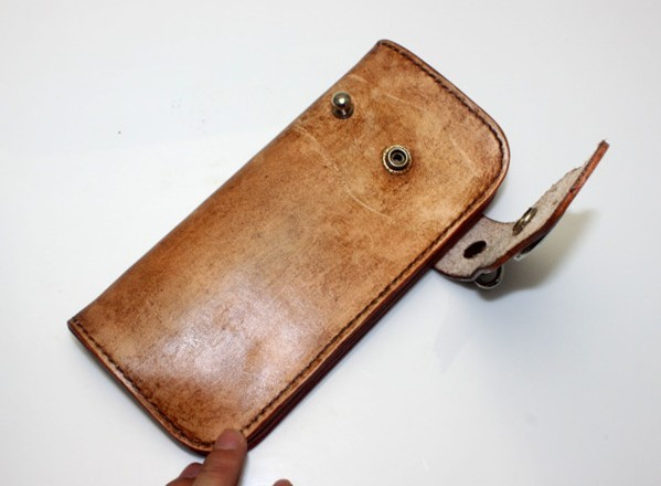 Hand Tooled Leather Wallet Leather Coin Wallet Bagswish