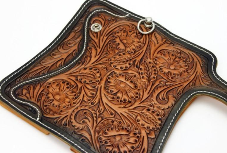 Leather Belt Wallet Leather Biker Wallet Bagswish