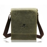 Mens courier bag, mens leather messenger bag