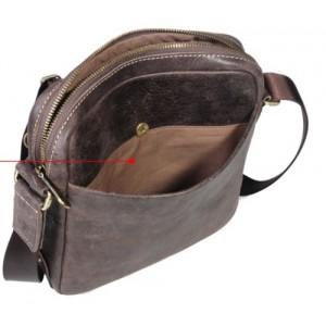 vintage Mens leather shoulder bag