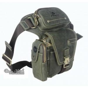 army green Travel waist bag