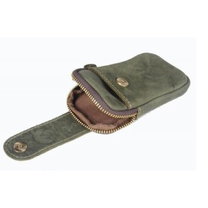 army green travel fanny pack