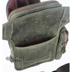 retro travel fanny pack