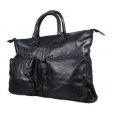Funky leather handbags, fashionable briefcases for women
