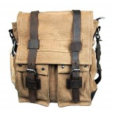 Messenger canvas bag, military messenger bag