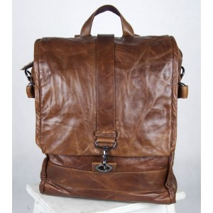 Men leather bag, leather womens backpack
