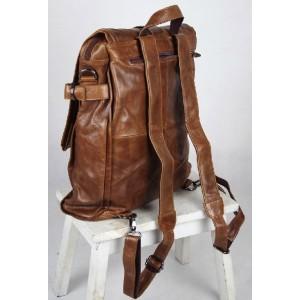 brown Men leather bag