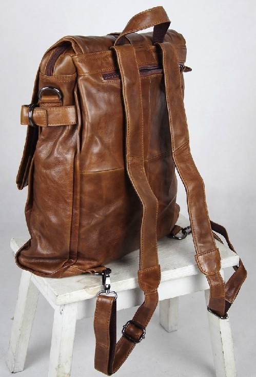 Men Leather Bag Leather Womens Backpack Bagswish