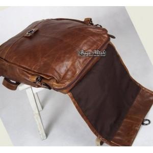 Men leather bag