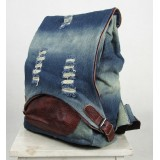 Denim jeans bag, denim book bag