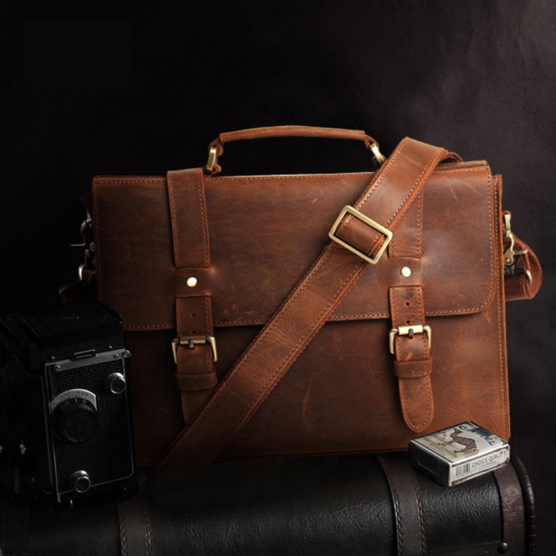 Lawyers Briefcase Leather Briefcase Satchel Bagswish
