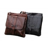 IPAD mens messenger bag leather