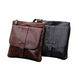 IPAD mens messenger bag leather, messenger bag for work