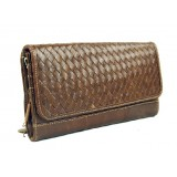 Cool leather bag, clutch purse